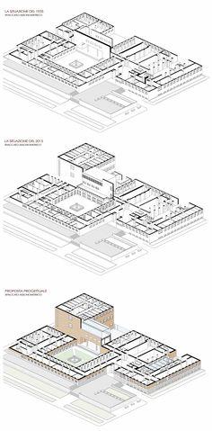 Project Restauro del Moderno - Istituto di Fisica - Sapienza Roma - Giuseppe Pecci - Andrea Ramaccini - Martina Renzetti