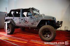 2013 SEMA SGT Rock Jeep JK Wrangler 4-door