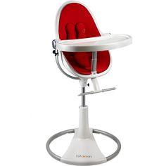 De recién nacido a 6 meses puede ser utilizada como una cuna de descanso.  De 6 meses en adelante silla para comer adecuada a la mesa y de 3 años a 36 kg como silla para jugar. Cómpralo en: http://www.ninosbebe.com/tienda/Puericultura/Tronas/Trona-FRESCO-LOFT-BCORoja.html#cont
