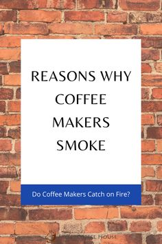 Don't panic, unplug the coffee maker and keep an eye on it for a couple of minutes as they have been known to catch on fire. Instead of thinking about why your coffee maker is smoking it may be better to just bring it outside to your backyard or balcony while you review the possible causes. Coffee Cream, Coffee Type, Black Coffee, Types Of Coffee Beans, Different Types Of Coffee, Coffee Canister, Coffee Spoon, Coffee Machine, Coffee Maker