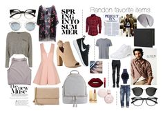 """""""Random lovely items"""" by officialmaureen on Polyvore featuring ZeroUV, Lanvin, Free People, Topshop, Christian Dior, MICHAEL Michael Kors, NIKE, Yves Saint Laurent, Lime Crime en Witchery"""