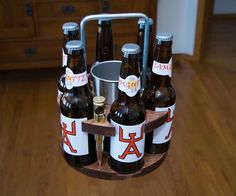 6 Pack Caddie - 6 Shooter Style