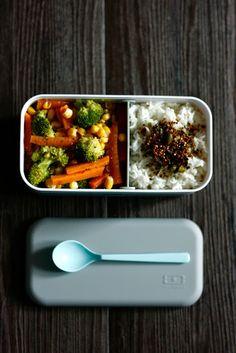 Bento Box Ideen, Bento-Box Rezepte, Bentorezepte, Bento japanisch Rezepte, japanische Brotzeitdose, Bentorezepte, Gemüse mit Reis