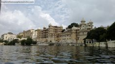 View of City Palace from Lake Pichola