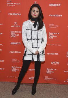 Selena Gomez Hits the Red Carpet Solo at Sundance Amid New Romance Rumors
