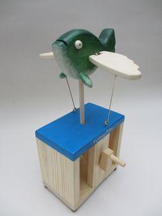 Flying Fish Automaton by TimDonaldAutomata on Etsy