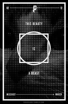 #cat #black #blvck #white #allinblack #beast #beauty #mischief #maker #problems #typography #vector #poster #pattern