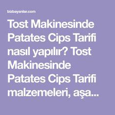 Tost Makinesinde Patates Cips Tarifi nasıl yapılır? Tost Makinesinde Patates Cips Tarifi malzemeleri, aşama aşama nasıl hazırlayacağınızın resimli anlatımı ve deneyenlerin yorumlarıyla burada