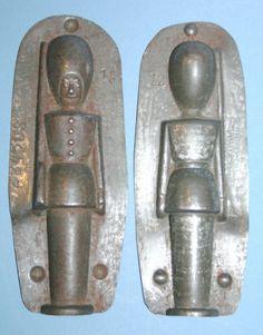 antike-Schokoladenform-von-Anton-Reiche-22450S-Holz-Soldat-aus-dem-Erzgebirge