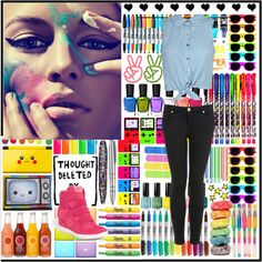 """Coloors!!"" by Elisa Urso on Polyvore"