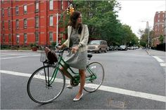 green bicycle!