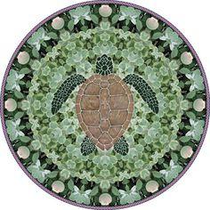 Sea Turtle Mandala Art