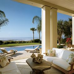Turn the Inside Out - 15 Idea-Filled Outdoor Rooms on the Coast - Coastal Living