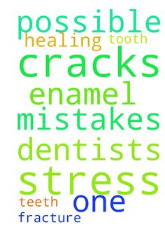 prayer request -   	Please pray for healing of my teeth    	�After a dentists mistakes there are cracks in the enamel. Also possible stress fracture in one tooth. Please pray thank you�   Posted at: https://prayerrequest.com/t/iVZ #pray #prayer #request #prayerrequest