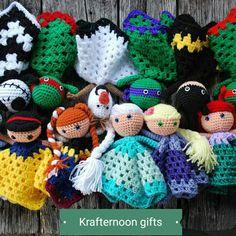 Crochet lovey dolls amigurumi toys fandom by Crochet Lovey Free Pattern, Love Crochet, Crochet Gifts, Crochet Dolls, Crochet Patterns, Crochet Ideas, Crochet Stitches, Crochet Disney, Amigurumi Doll