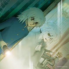 Through a glass, darkly by Lizeth on DeviantArt Bakura Ryou, Dark Mermaid, Anime Artwork, Studio Ghibli, Anime Love, Anime Characters, Card Games, Fan Art, Entertaining