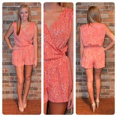 Available on the SHOP tab! Love rompers for the summer!