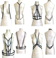 New-Fashion-Adjustable-Harness-Body-Bondage-Cage-Sculpting-Belt-Straps-BODP-A