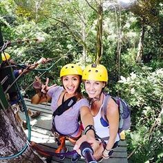 Warning: Contagious fun at Ocean Ranch Park. You may have the time of your life, along with the pictures to prove it! Thanks for tagging and sharing your adventure @sarahalviar and @tiffinn_ !  If you're looking for #Jaco adventure tours, than look no further! We've got you covered from tree to tree! Pura Vida! #zipline  #oceanranchpark #costarica #cr #costa #puravida #eco #rainforest #jungle #jaco #adventure #adventuretime #ecotourism #travel #best #instagood #travelstoke…