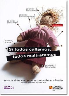 Campaña contra la violencia de género del Gobierno de Aragón