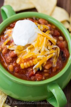 Crockpot Turkey Chili, Slow Cooker Turkey Chili, Turkey Chili Recipe
