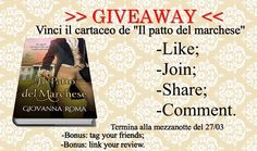 PAPERBACK GIVEAWAY su: http://giovannaroma.blogspot.it/2017/03/paperback-giveaway.html