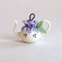 Miniature Whimsy Purple and Lavender Blossom by ArtisticSpirit
