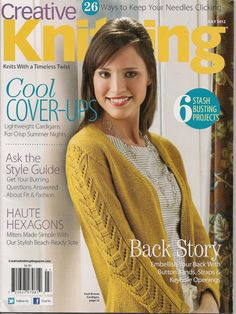 Creative Knitting Magazine July 2012 by needlecraftsupershop, $6.99