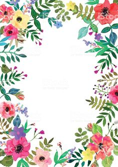 Illustration about Vector flowers set. Colorful floral collection with leaves and flowers, drawing watercolor.Design for invitation, wedding or greeting cards. Illustration of beauty, abstract, paintings - 70267598 Flower Backgrounds, Wallpaper Backgrounds, Iphone Wallpaper, Trendy Wallpaper, Cute Wallpapers, Fleur Design, Floral Drawing, Vector Flowers, Watercolor Flowers