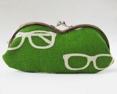 eyeglass case - glasses on green by oktak_ny, via Flickr