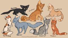 Warrior Cats Concepts sketch by HailSpirit on DeviantArt