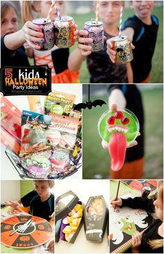 Fun Ideas for hosting a Kids Halloween Party from KristenDuke.com