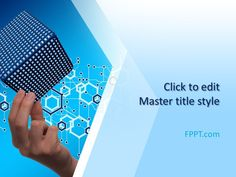 Technology background design for #PowerPoint presentations on computer technology, technical parts, mechanical systems, or advanced computing in #science and #engineering.