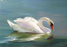 Pichwai Paintings, Fantasy Paintings, Animal Paintings, Swan Painting, Painting & Drawing, Bird Artwork, Cool Artwork, Swan Drawing, Swan Pictures