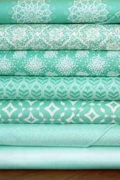 Mint To Be - mint palette - also available in navy or orange