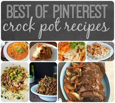 Nap Time is the New Happy Hour: Best of Pinterest Crock Pot Recipes