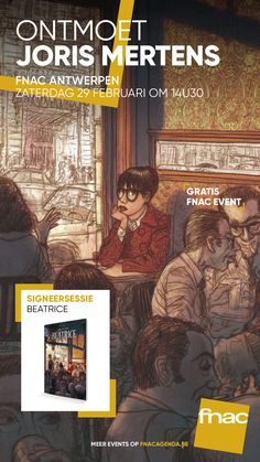 "Signeersessie ""Beatrice"" Fnac Antwerpen 29/02/2020 14u30 Comic Books, Cover, Movie Posters, Day Planners, Calendar, Film Poster, Cartoons, Comics, Comic Book"