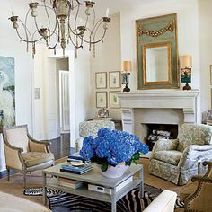 living room from Southern Living