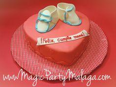 Tarta patucos de bebé - Baby Cake