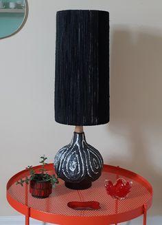Chalvignac fat lava lamp, hemp cord