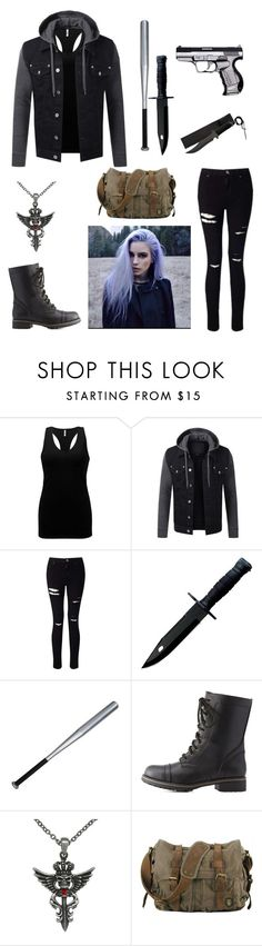 """""""the walking dead oc"""" by nerdtastical ❤ liked on Polyvore featuring BKE, Miss Selfridge, Charlotte Russe and Carolina Glamour Collection"""