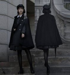 LolitaWardtobe - Bring You the latest Lolita dresses, coats, shoes, bags etc from Trustworthy Taobao indie Brands. We never resell Lolita items from untrustworthy Taobao stores. Mode Chic, Mode Style, Lolita Fashion, Gothic Fashion, Rock Fashion, Old Fashion Dresses, Fashion Outfits, Mode Lolita, Estilo Lolita