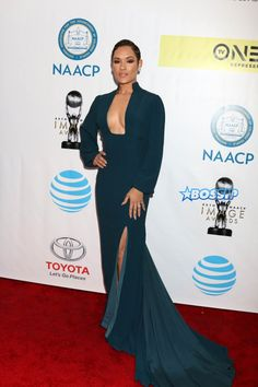 Celebrities arrive at the 48th NAACP Image Awards held at the Pasadena Civic Auditorium in Pasadena