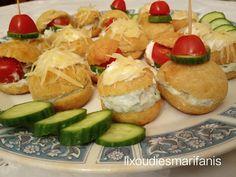 Εικόνα Appetisers, Blue Cheese, Baked Potato, Sushi, Potatoes, Baking, Ethnic Recipes, Food, Kitchens