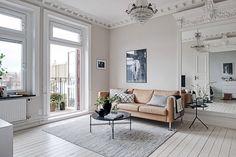 Шик и простота по-скандинавски (61 кв. м) | Пуфик - блог о дизайне интерьера