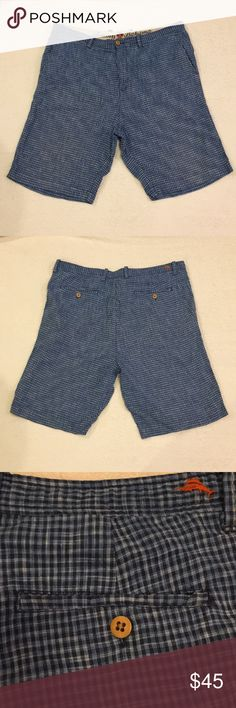 ⬇️$45 Tommy Bahama men's linen/silk shorts size 36 MENS Tommy Bahama Plaid Shorts Size 36 Perfect Like NEW Condition 80% Linen/ 20% Silk blend  From a smoke-free/ pet-free home.  Fast shipping! Tommy Bahama Shorts