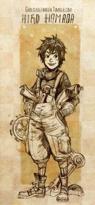 Steampunk big hero 6