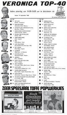 Stichting Norderney - Radio Veronica 1959-1974 Radios, Veronica, Memory Motel, 1970s Music, Tamla Motown, Four Tops, Old Time Radio, Music Charts, Karaoke Songs