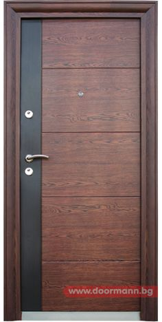 Solid wooden front door TYLISSOS Block95 Great pin For Oahu