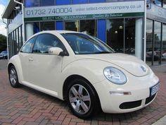 Volkswagen Beetle Hatchback White